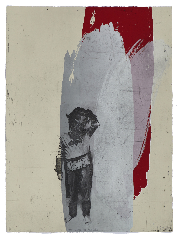 Mon image de pacotille    2014 | 76 x 57 cm | Serigraphy | 4 prints