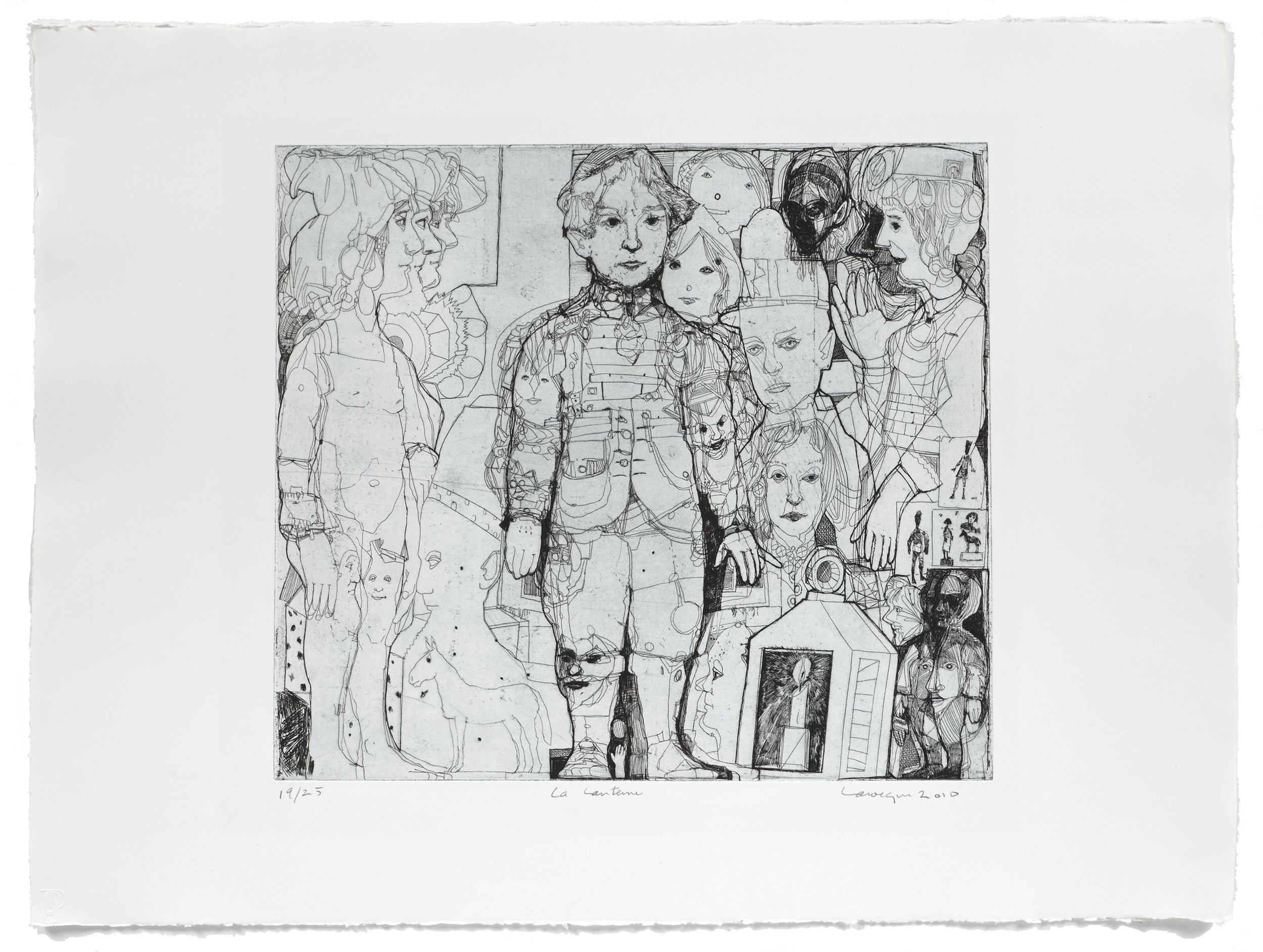 La lanterne   2010 | 56 x 76cm | Eau-forte | 25 prints | Editor Atelier-Galerie A. Piroir