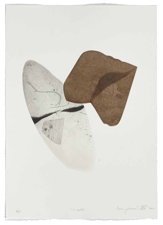 A duetto    2012 | 54 x 38 cm | Eau-forte and cut plates | 15 prints