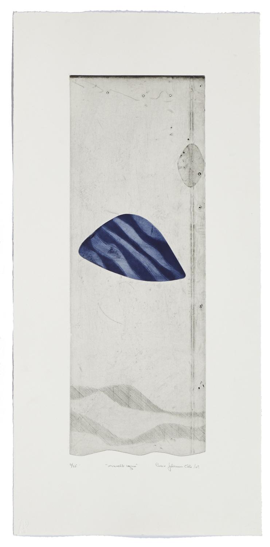 Nouvelle vague    2007 | 76 x 57 cm | Eau-forte and cut plates | 25 prints