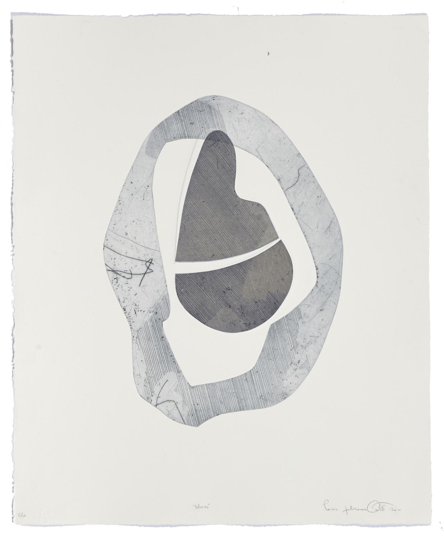 Blues    2011 | 66 x 56cm | Eau-forte and cut plates | 20 prints