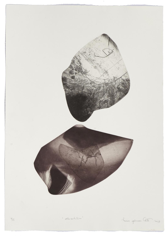 Concertation    2013 | 66 x 47 cm | Eau-forte and cut plates | 15 prints
