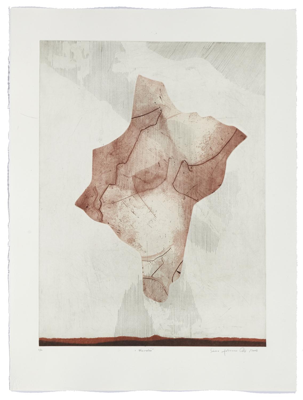 Envolée    2008 | 76 x 56cm | Eau-forte and cut plates | 25 prints