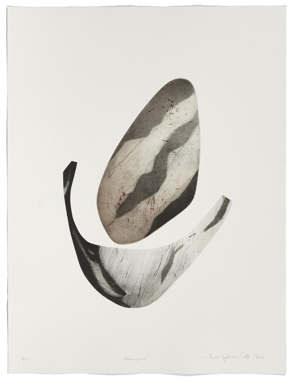 Liberazione    2012 | 65 x 50 cm | Eau-forte and cut plates | 10 prints