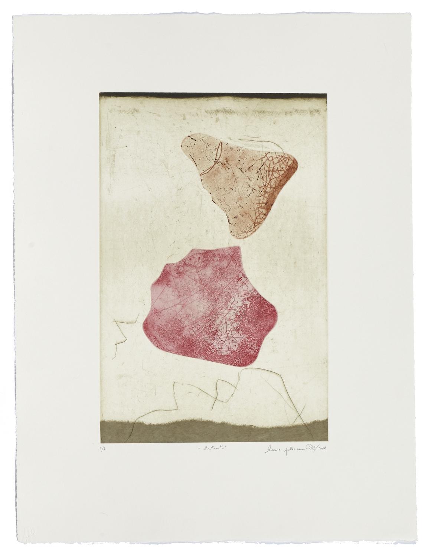 Entente    2009 | 66 x 50cm | Eau-forte and cut plates | 25 prints