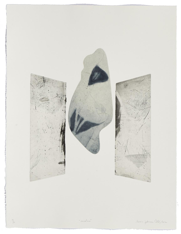 Ouverture    2012 | 71 x 55 cm | Eau-forte and cut plates | 10 prints