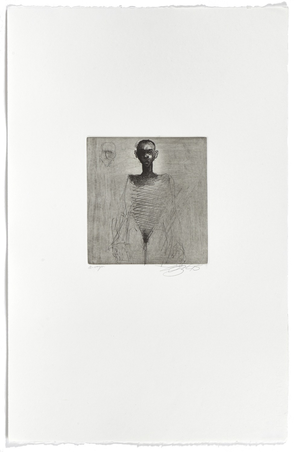 Untitled 1    1995 | 66 x 42 cm | Lithography | 4 prints