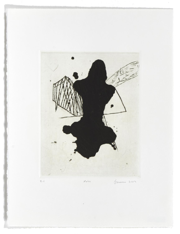 Mehn    2002 | 38 x 29 cm | Carborundum and drypoint