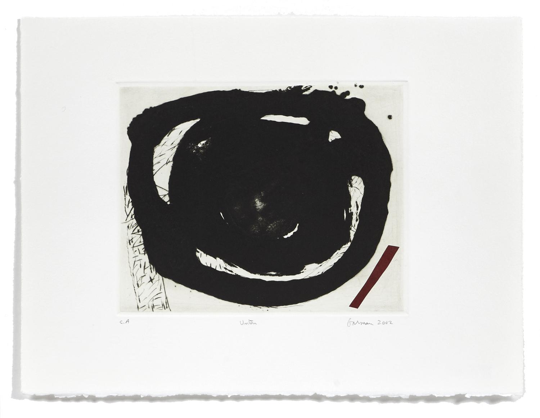 Unten    2002 | 29 x 38 cm | Carborundum and drypoint