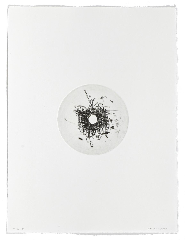 #72    2004 | 38 x 29 cm | Carborundum | 1 print
