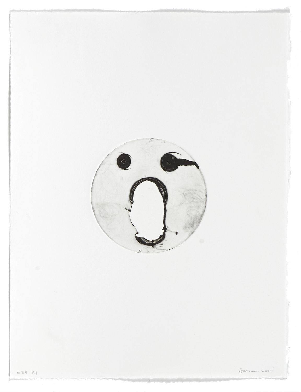 #84    2004 | 38 x 29 cm | Carborundum | 1 print