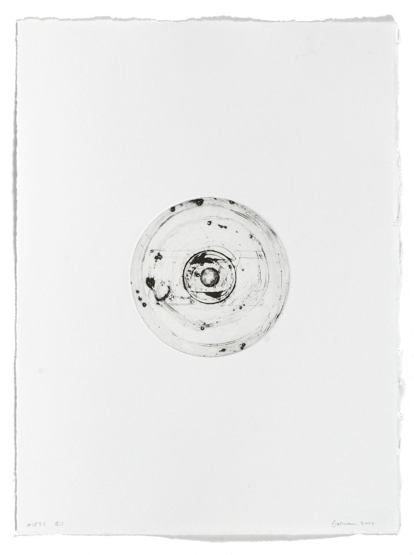 #157.1    2004 | 38 x 29 cm | Carborundum | 1 print