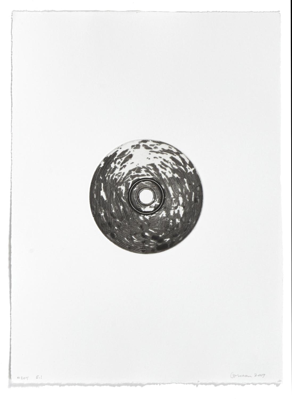 #204    2004 | 38 x 29 cm | Carborundum | 1 print