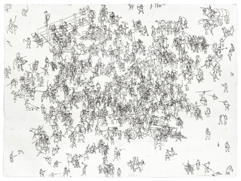 Babel 14    2010 | 56 x 76cm | Eau-forte | 15 prints