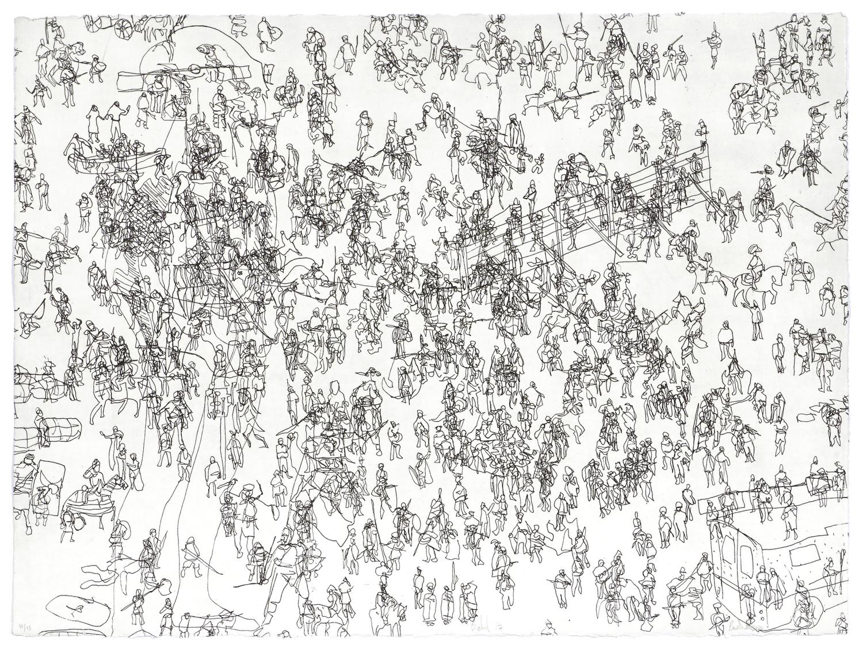 Babel 17    2010 | 56 x 76cm | Eau-forte | 15 prints