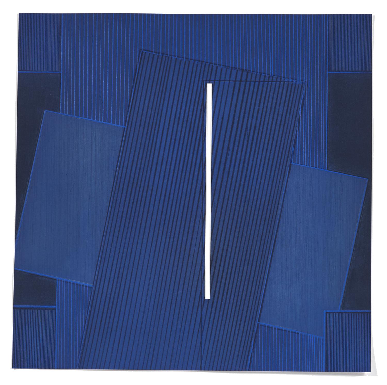 5 Variations un thème de 5M3 #1    2008 | 48 x 48cm | Eau-forte | 15 prints | Editor Atelier-Galerie A. Piroir and Galerie Éric Delvin.