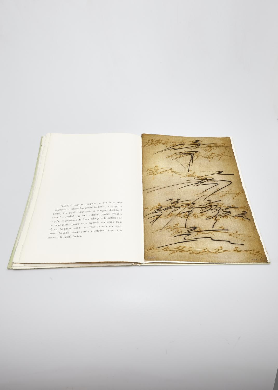 Le corps de l'alphabet    Text by Alain Bosquet and engraving by Julius Baltazar  1978 | 51 x 33 cm | eau forte et typography | 50 prints | editor Le Verbe et l'Empreinte