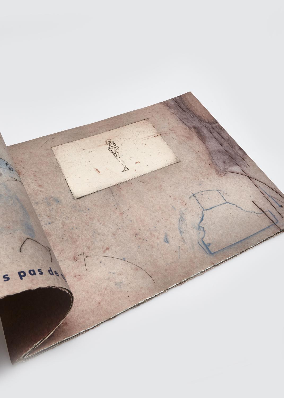 Peintre, je n'aurais rien à dire    Text by Louis Gauthier and engraving by François Vincent  1988 | 36 x 29 cm | engraving and serigraphy | 31 prints | editor Atelier Circulaire