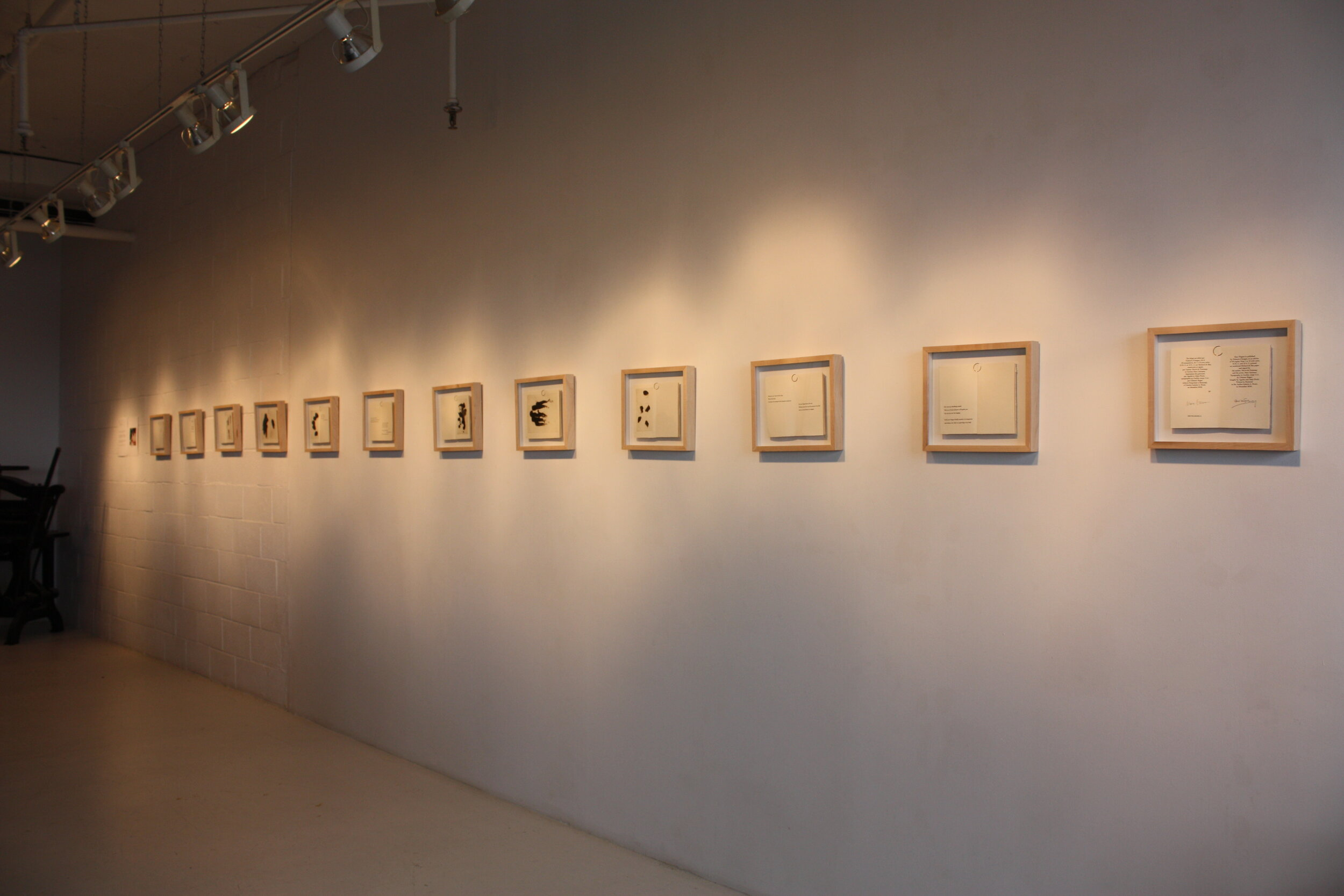 Vue de l'exposition, site web de l'artiste Marc Garneau -