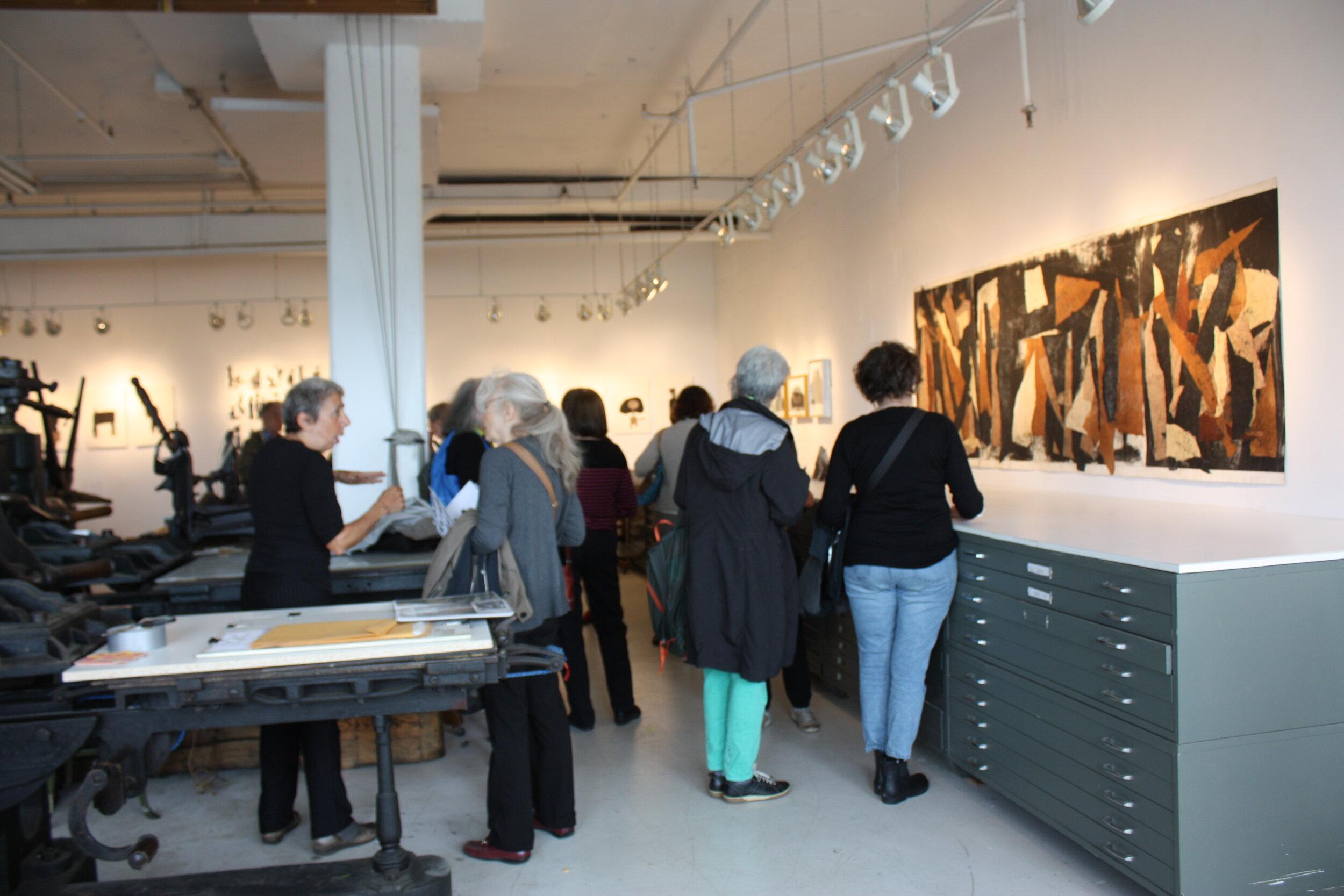 Vue de l'exposition, site web de l'artiste Stella Pace -