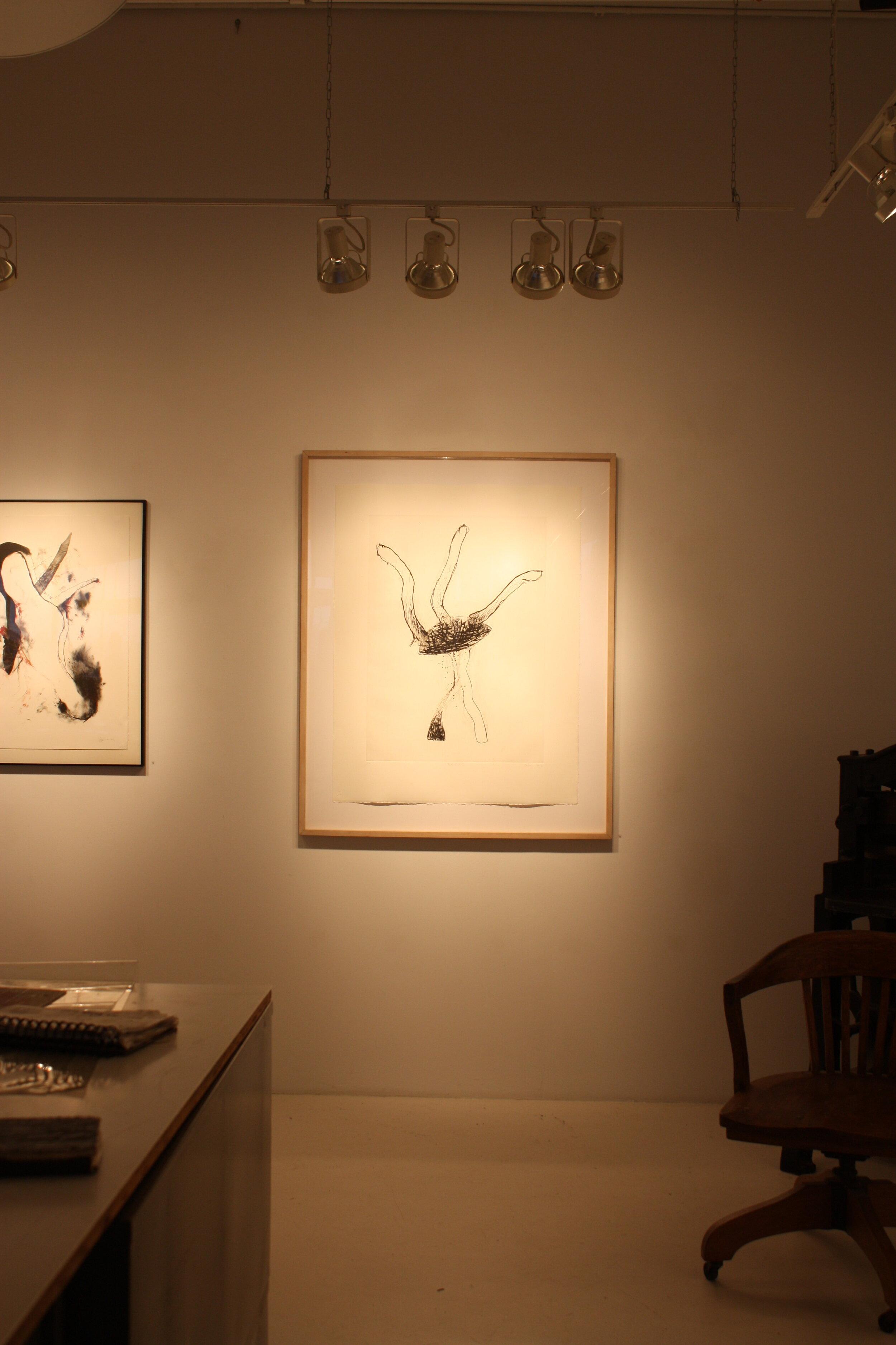 Post-Involution, 1993, pointe sèche, 113 x 79 cm, site web de l'artiste Marc Garneau -