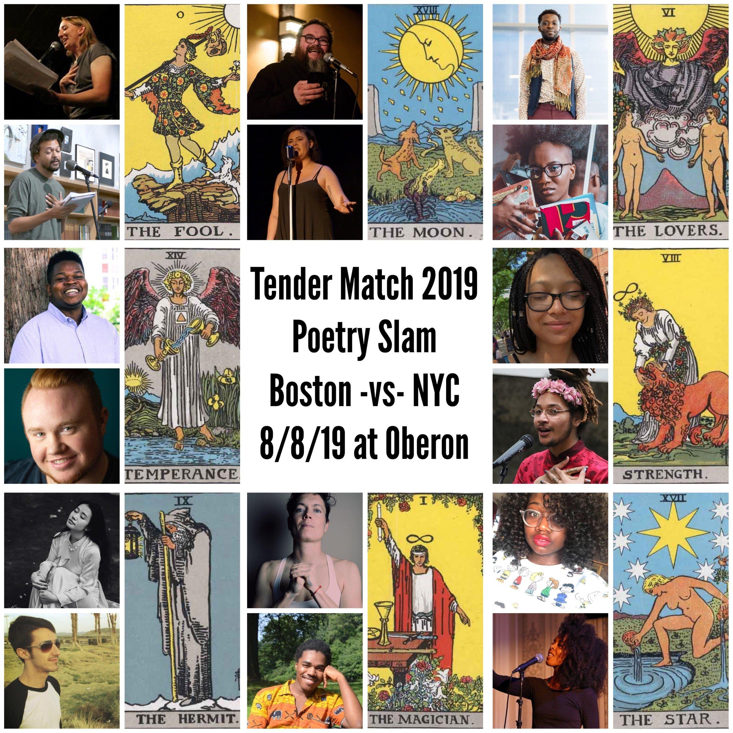 Head-to-Head Poetry Slam. Writing prompts all based on Major Arcana Tarot Cards
