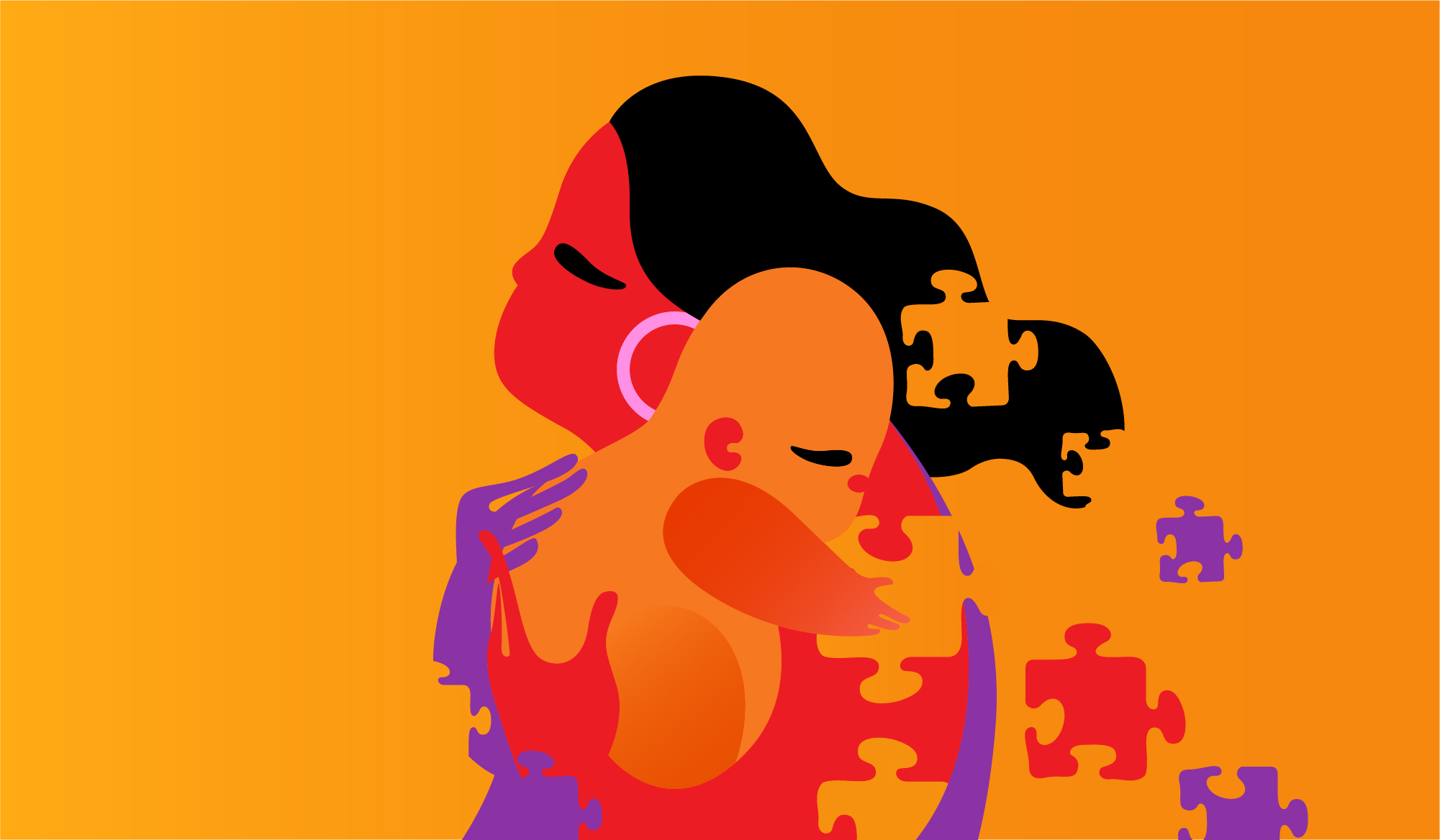 I Am Trans, a Woman, & a Mother, and I'm Finding Peace and Strength in This Puzzle Unknown