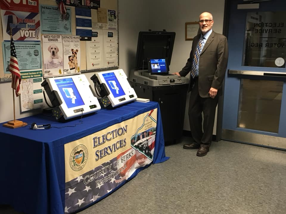 Kevin in Elections Department - ES&S Voting System