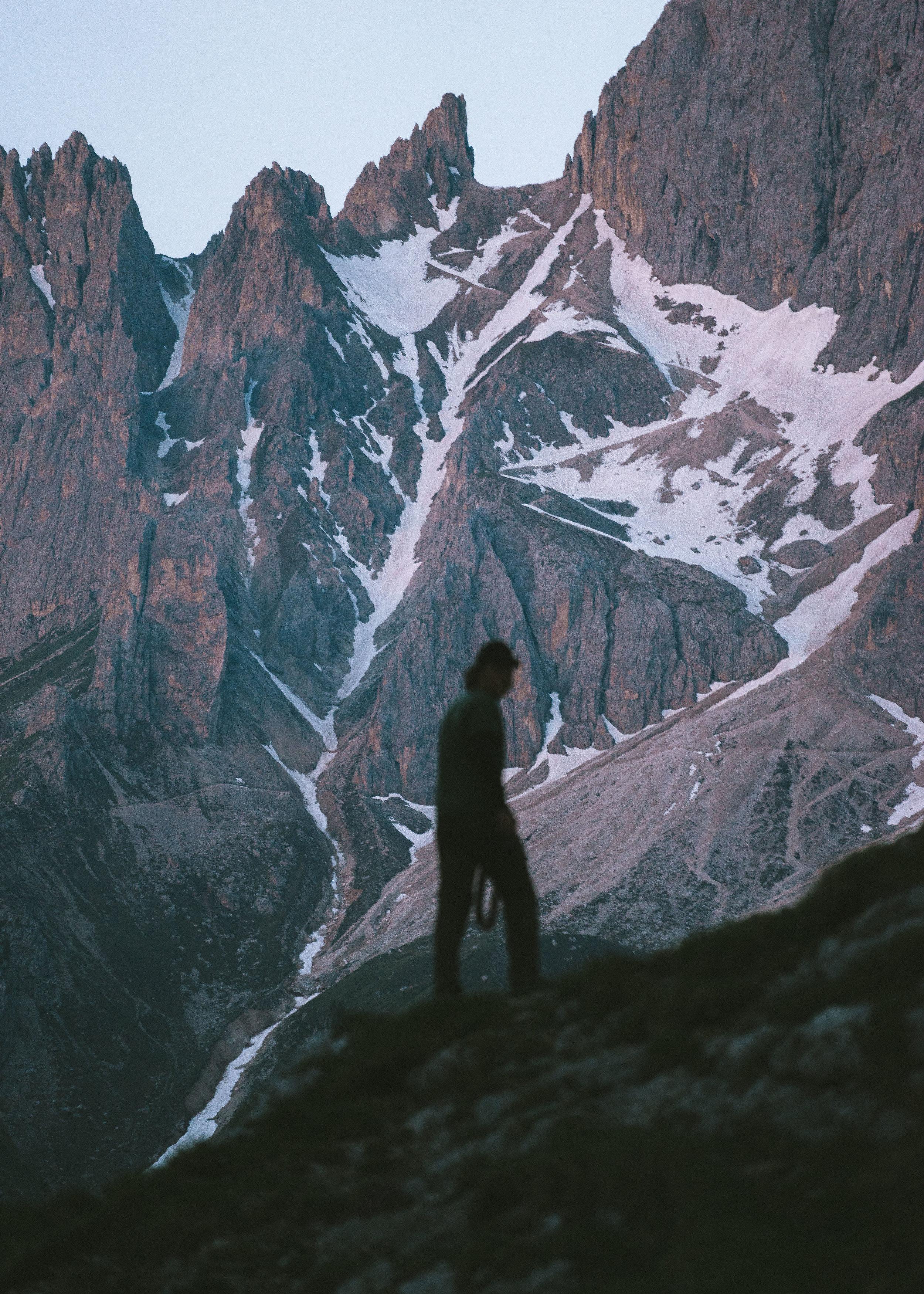 Sam Silhouette Dolomites (1 of 1).jpg