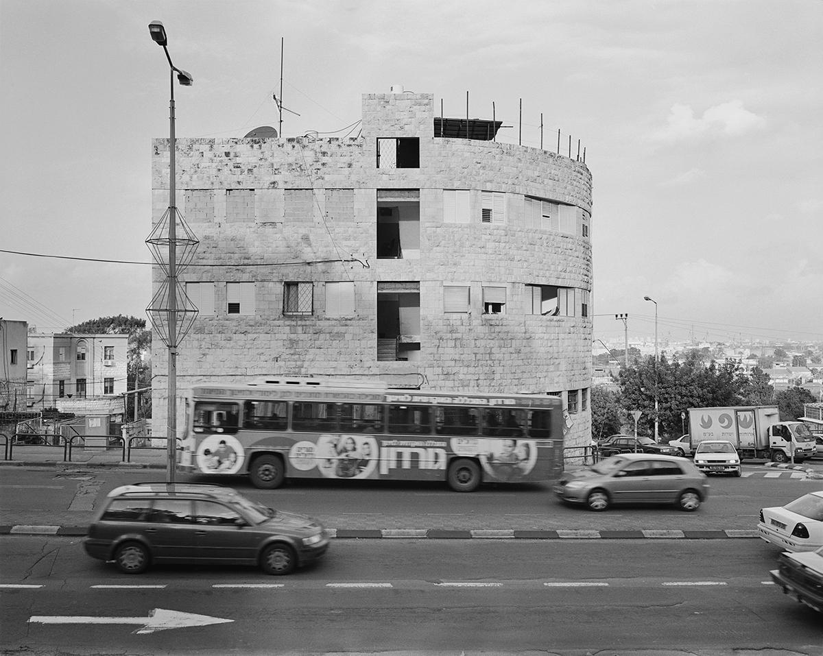 December 2, 2001, HaGiborim Street, Haifa. Photographed: January 2004