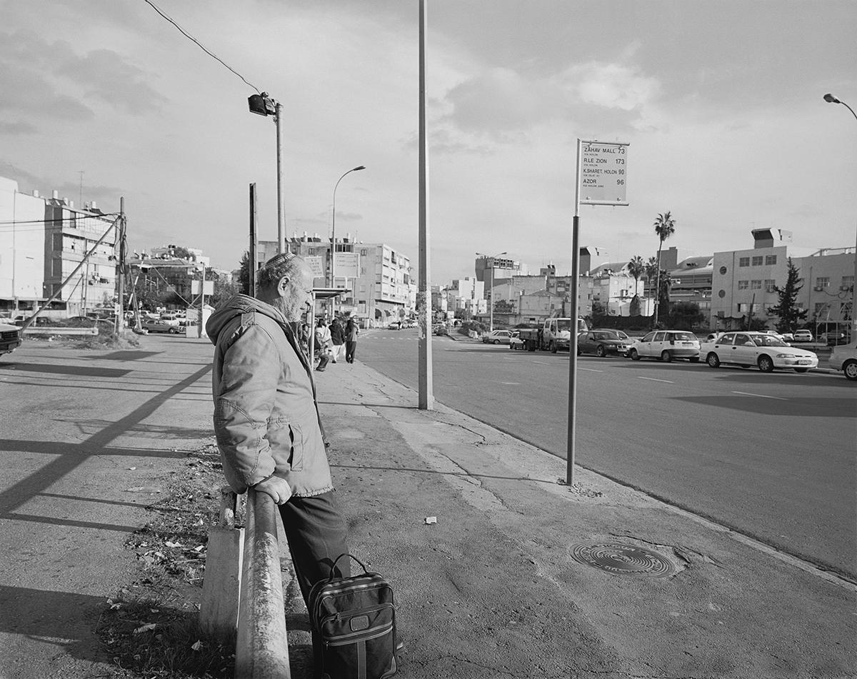 January 25, 2002, Ha'Gdood Halvry Street, Tel Aviv. Photographed: February 2003