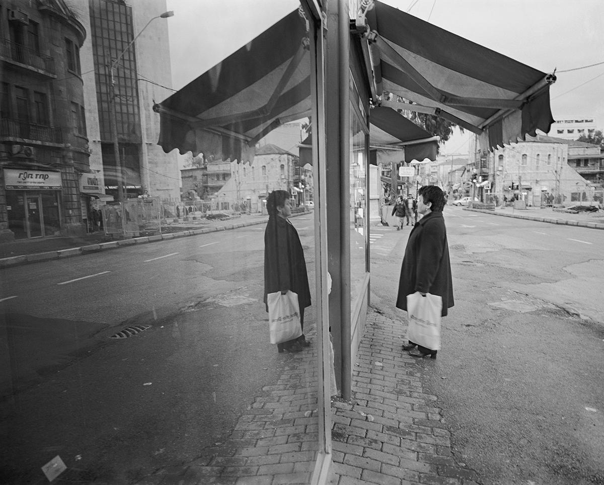 January 27, 2002, Jaffa Street, Jerusalem. Photographed: February 2003