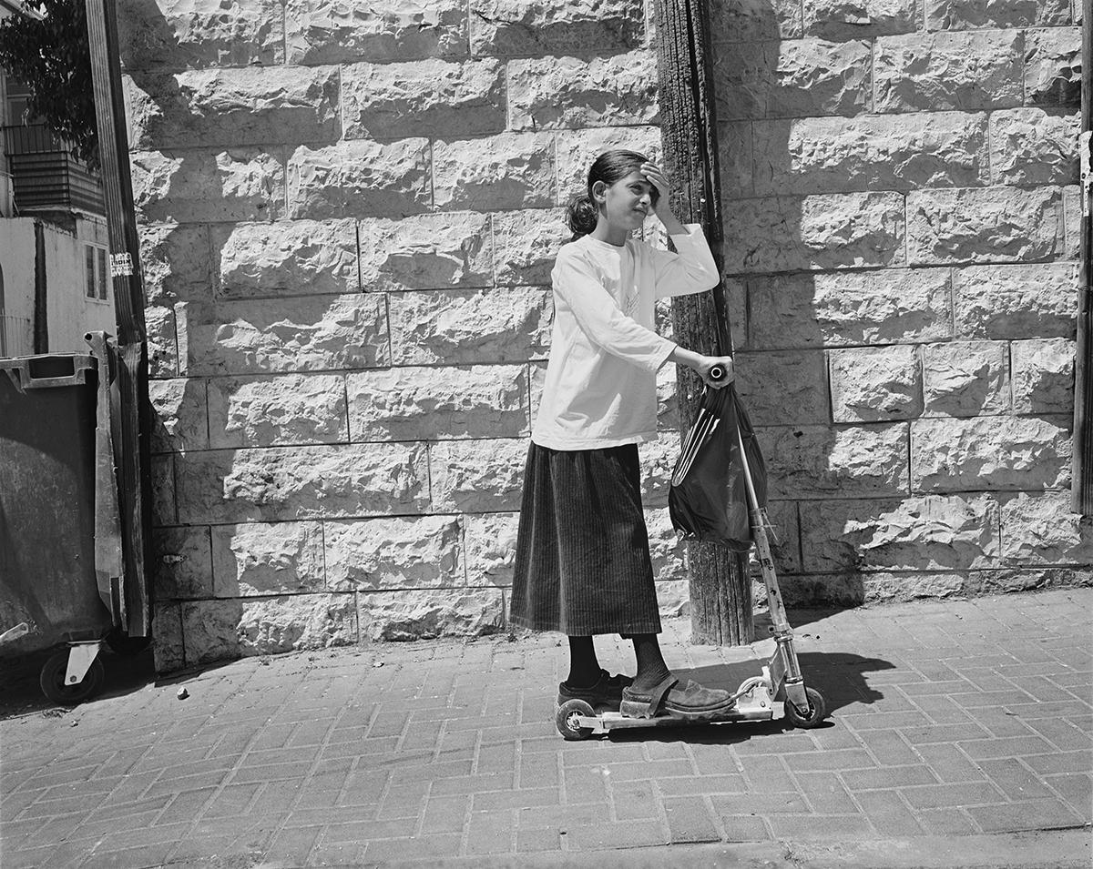 March 2, 2002, Haim Ozer Street, Jerusalem. Photographed: August 2003