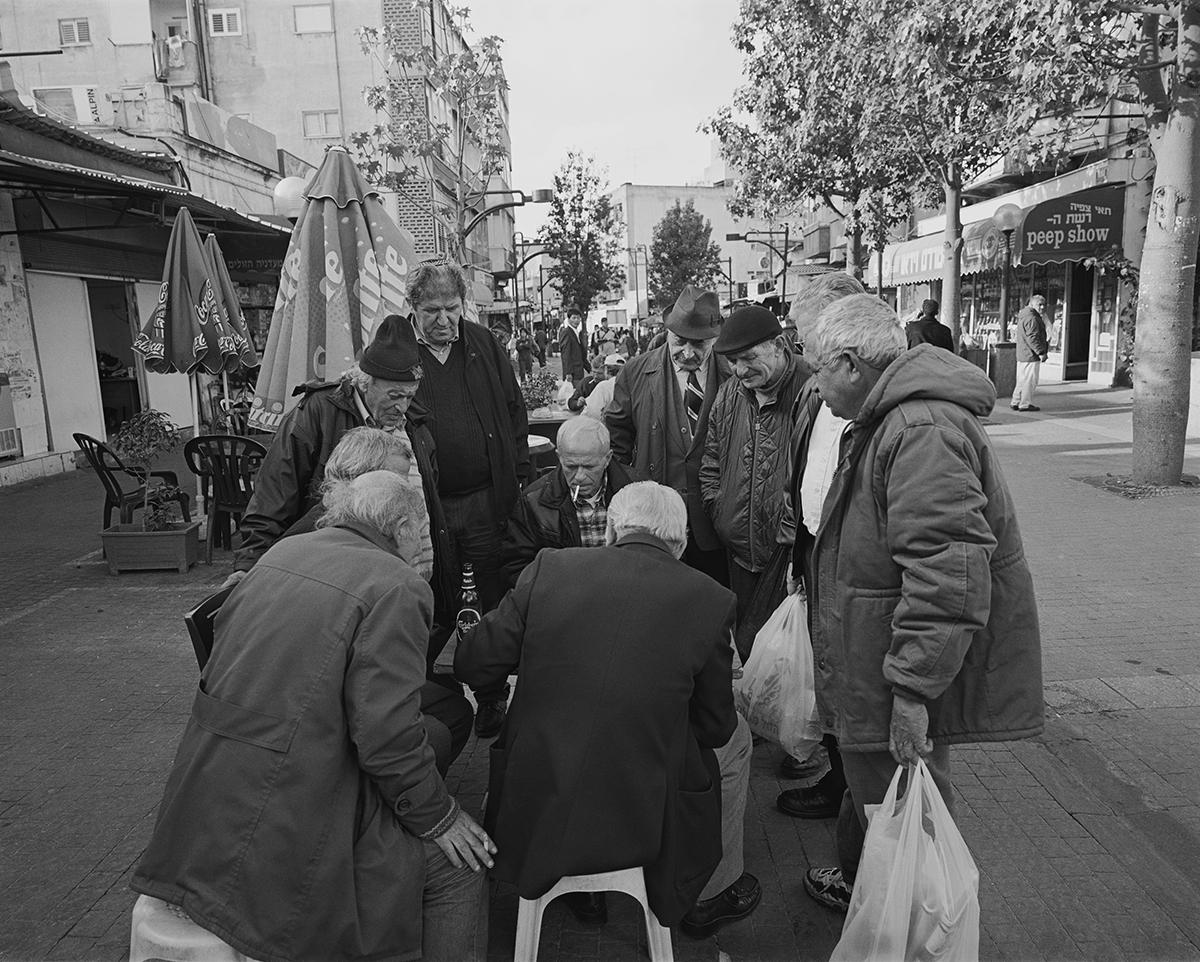January 5, 2003, Neve Shaanan Street, Tel Aviv. Photographed: February 2003
