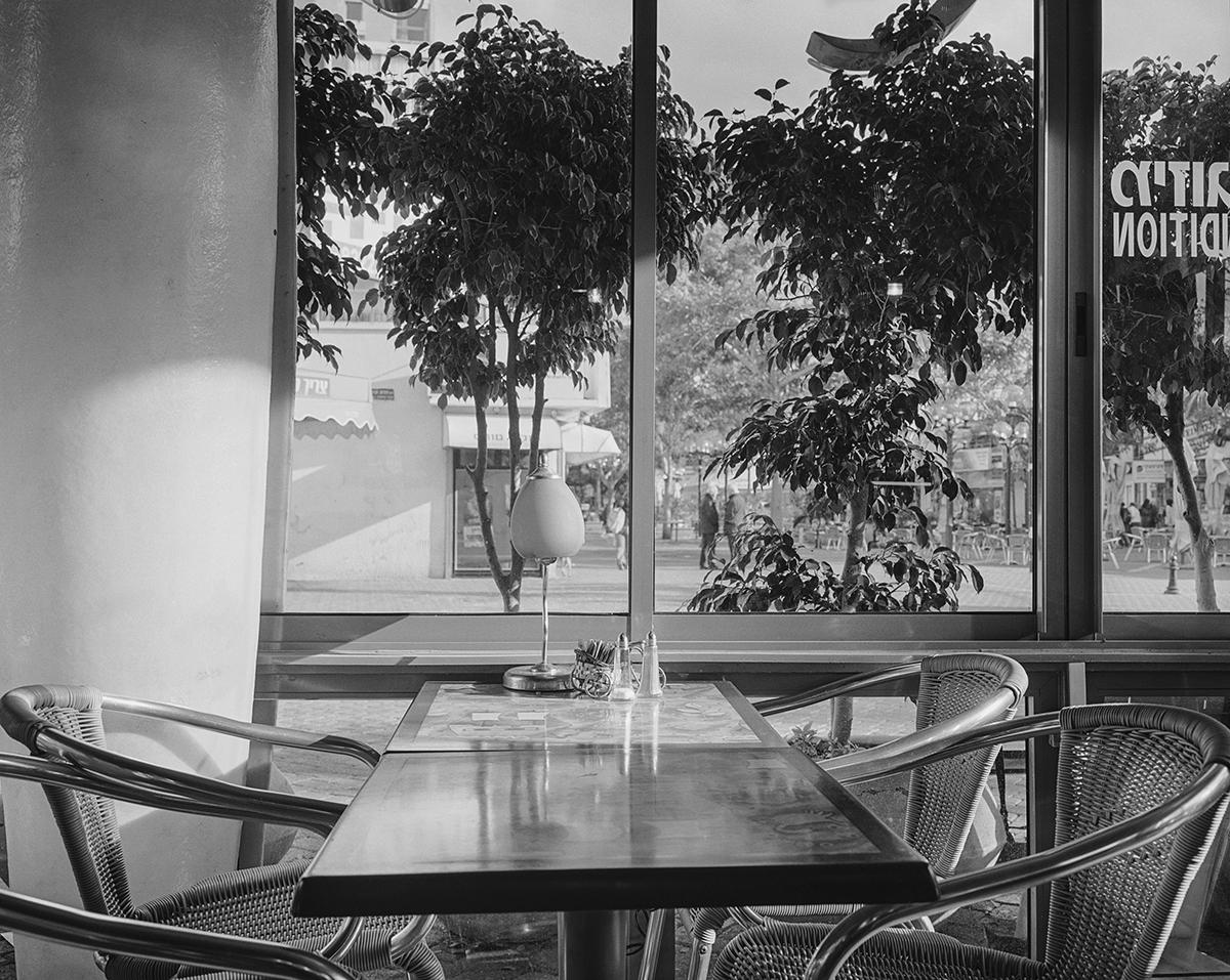 "March 30, 2003, ""London"" Cafe, Netanya. Photographed: January 2004"