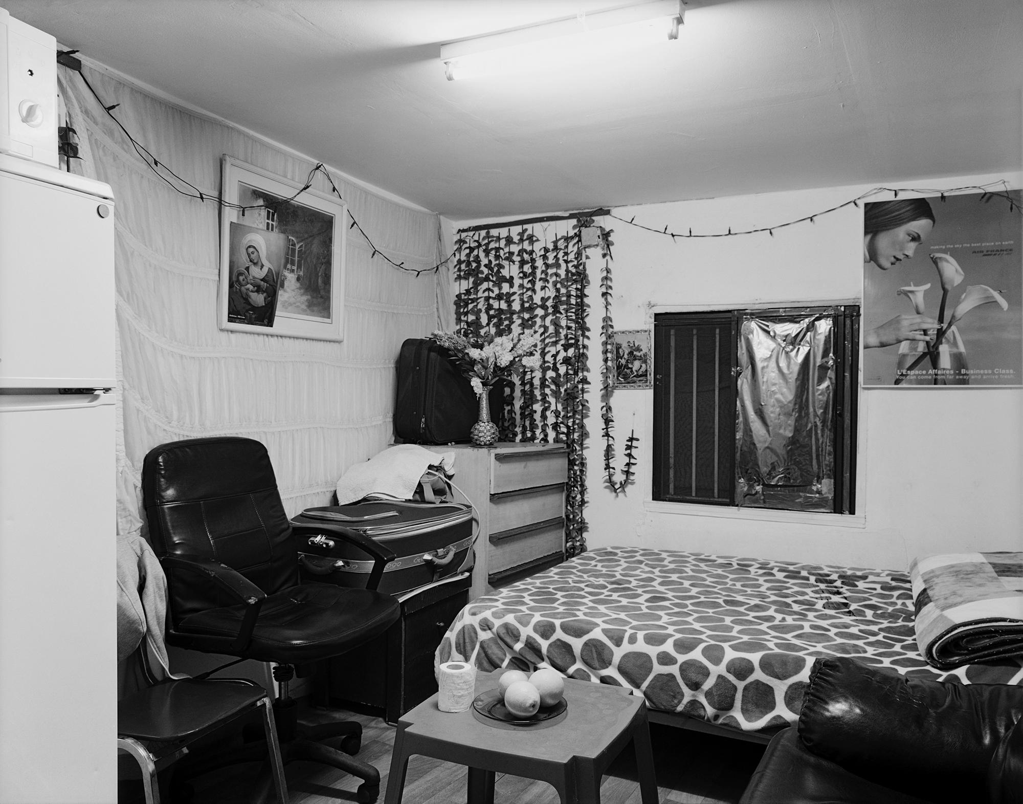 M.'s living room, Neve Sha'anan, Tel Aviv 2015