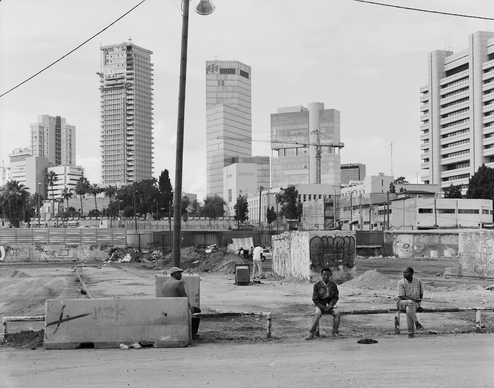 Old Central Bus Station. Neve Sha'anan, Tel Aviv 2014