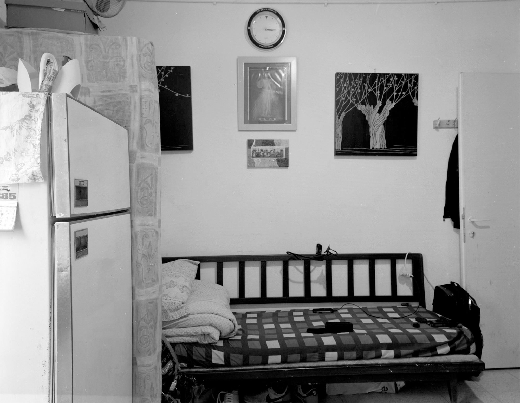 J. living room, Neve Sha'anan 2014