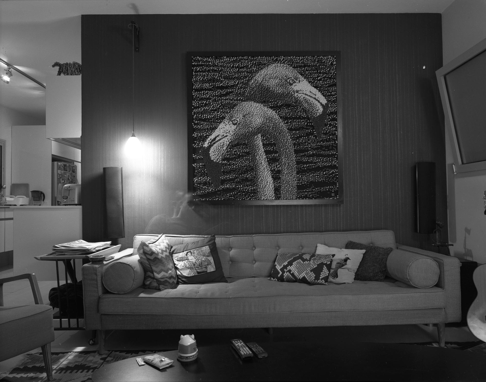 O. living room, 2015