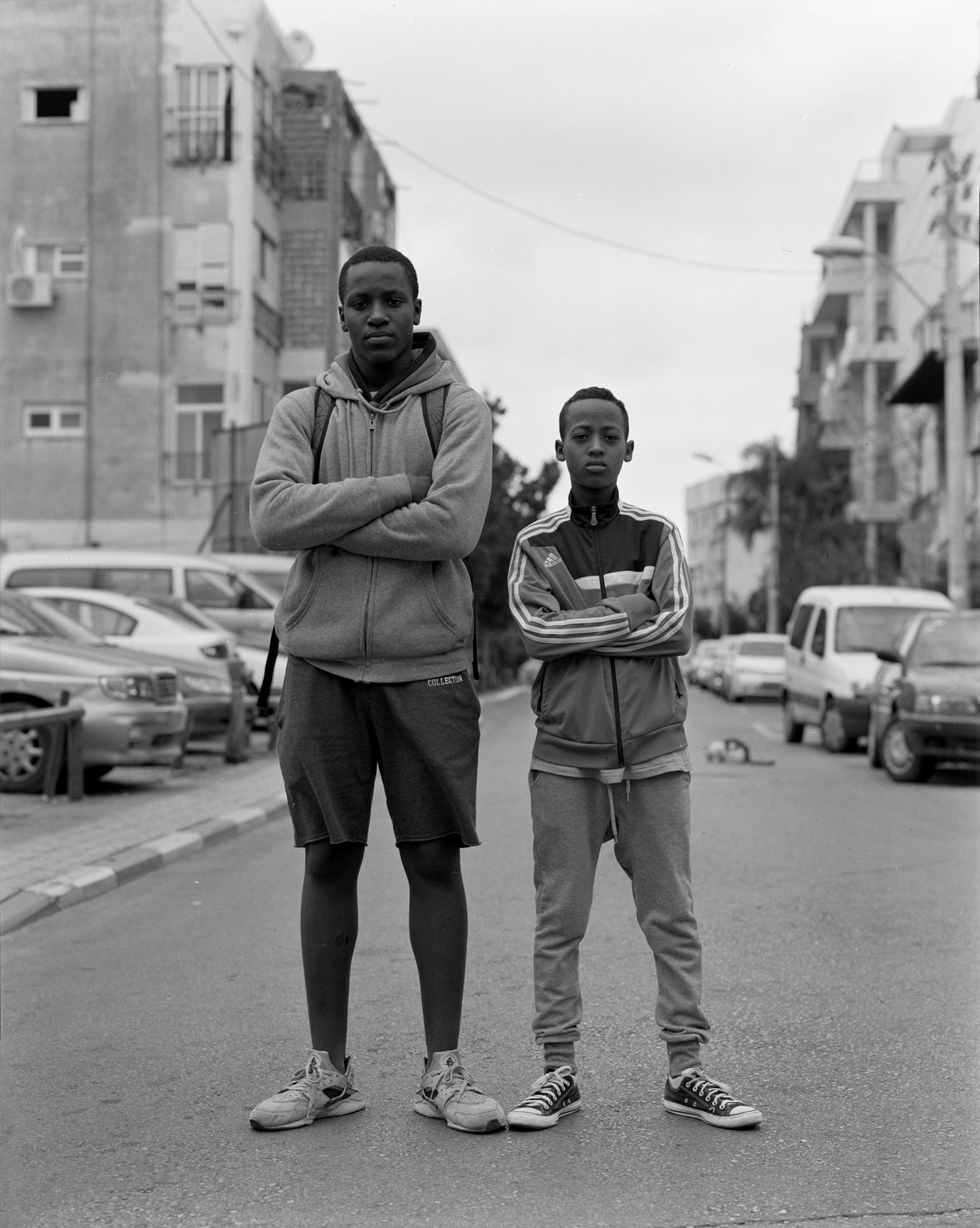 A. and L. (Nigeria/Israel) Neve Sha'anan 2016