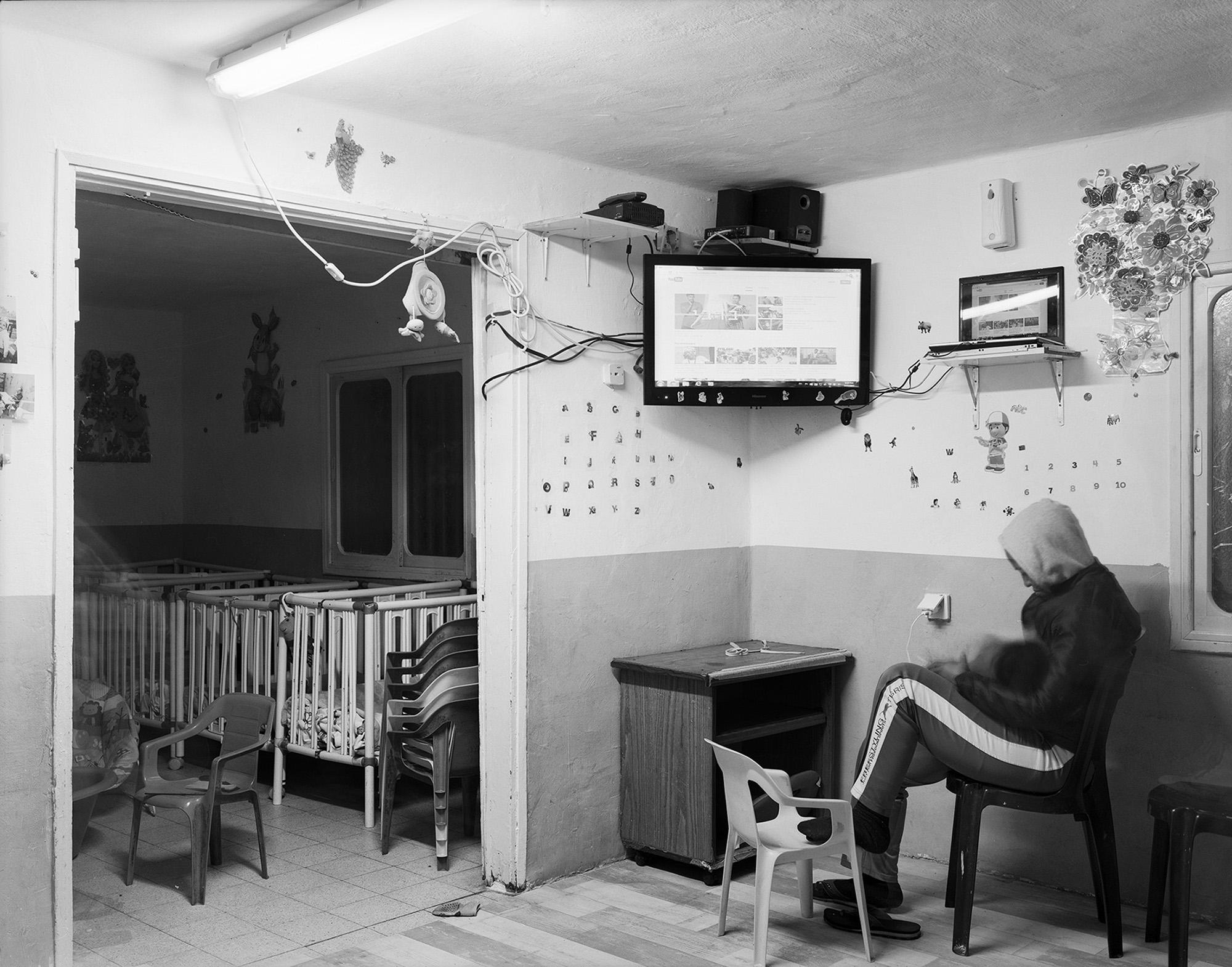 G. living room (Nighttime). Neve Sha'anan. Tel Aviv 2015