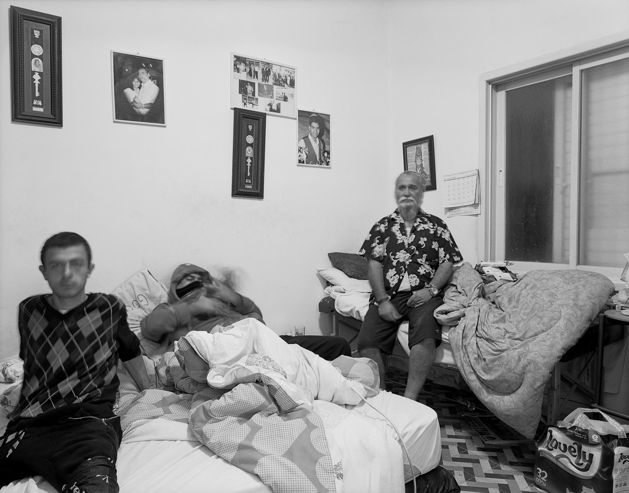 A. and E. living room (Israel) Neve Sha'anan 2015
