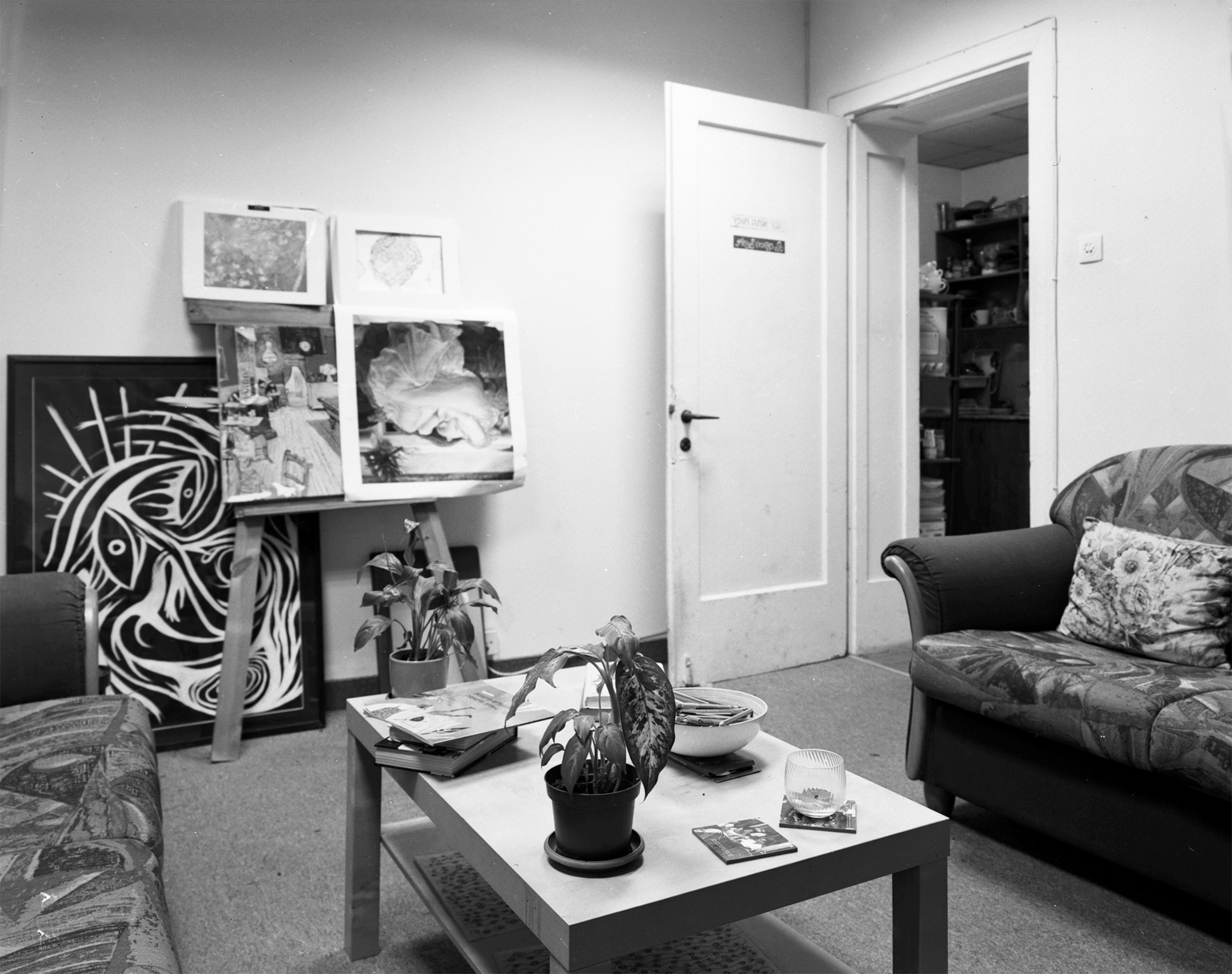 E. living room, (USA) Neve Sha'anan 2015