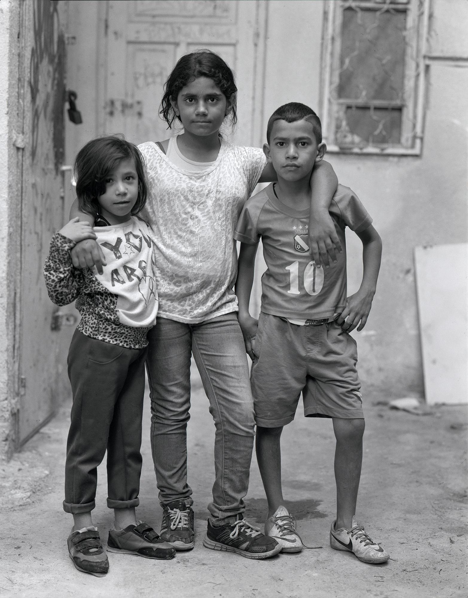 Siblings (Israel/Palestine), Neve Sha'anan, 2014