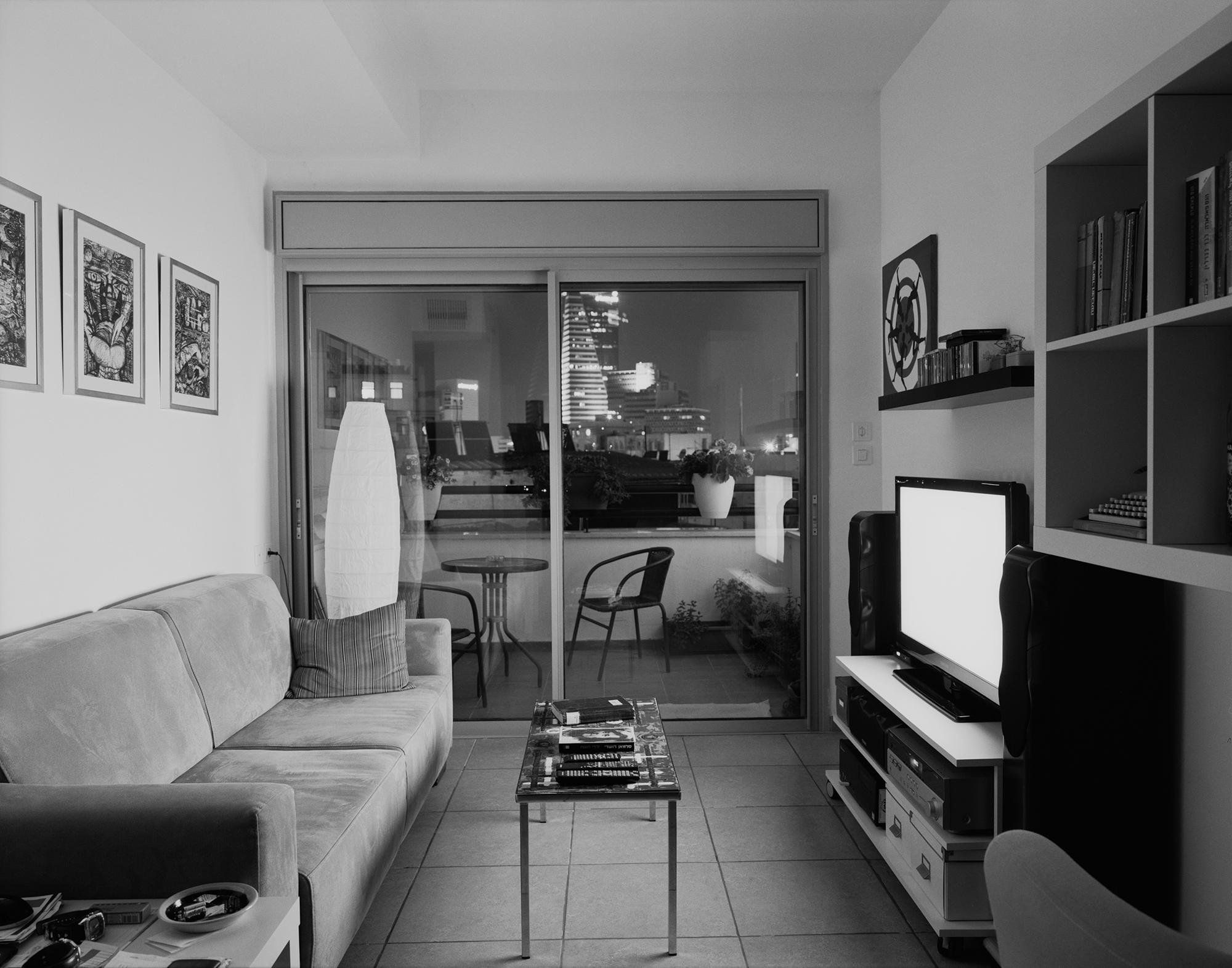 O. living room. Neve Sha'anan. Tel Aviv 2015