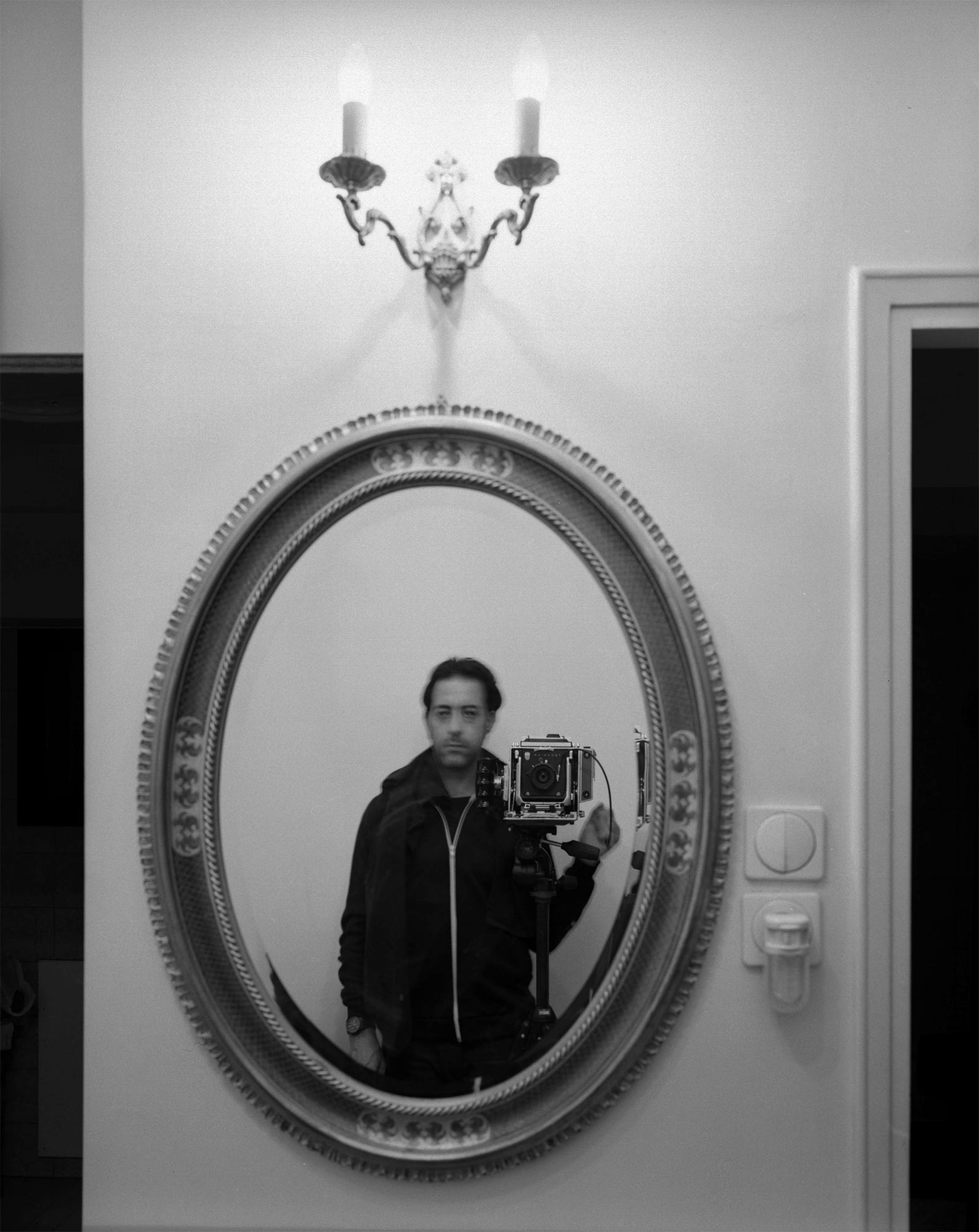 Self portrait, Neve Sha'anan 2015