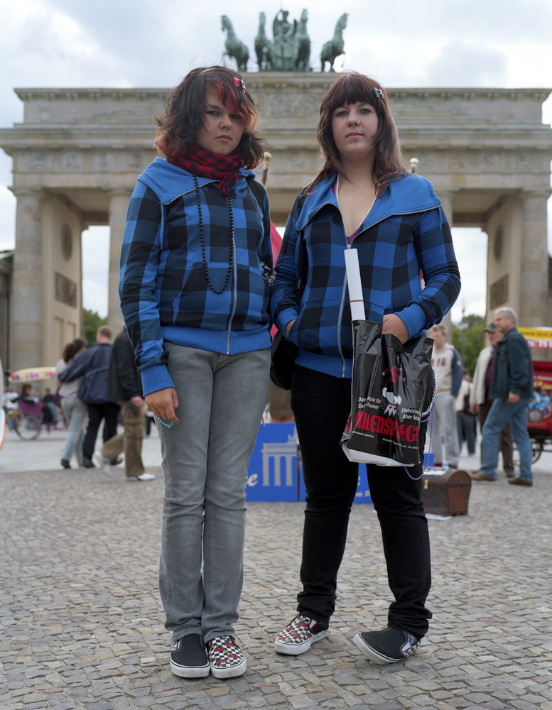 Bavarian Tourists at Brandenburger Tor 2007
