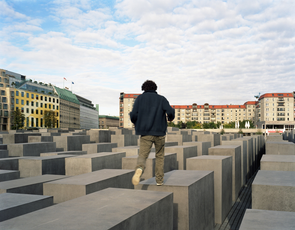 The Holocaust Memorial in Berlin 2007