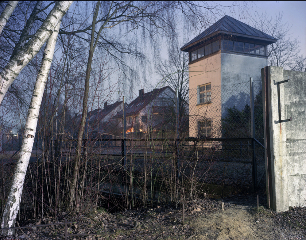 Dachau WatchTower and neighboring houses 2007