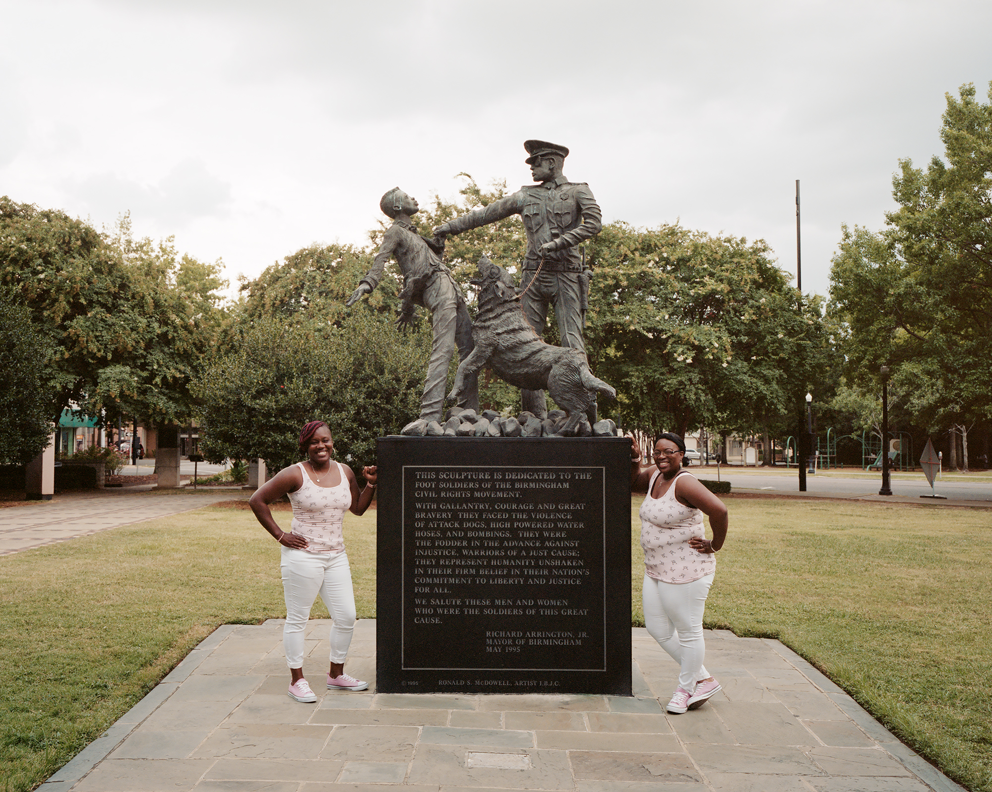 Civil Rights National Monument. Birmingham, AL
